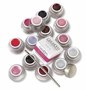 Axxium coloured soak off colour gel lacquer overlay - £30.00